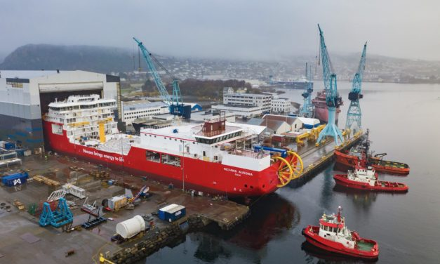 Nexans Aurora launched at Ulstein