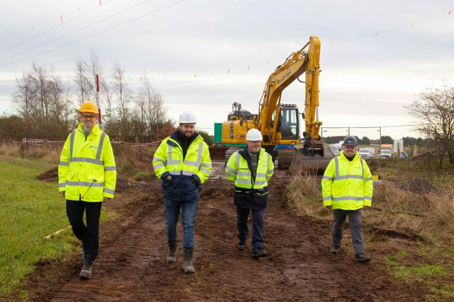 Seagreen Wind Farm Project: Work on 19km of cabling gets underway in Angus