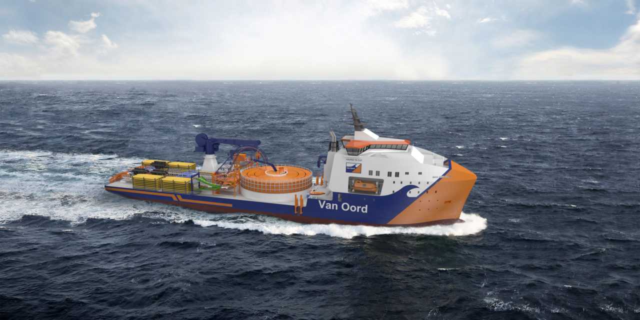 Van Oord orders green cable-laying vessel