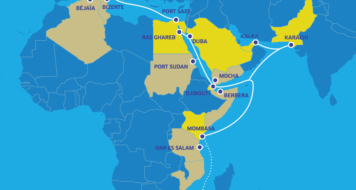 ASN starts construction of Africa-1 subsea telecom system