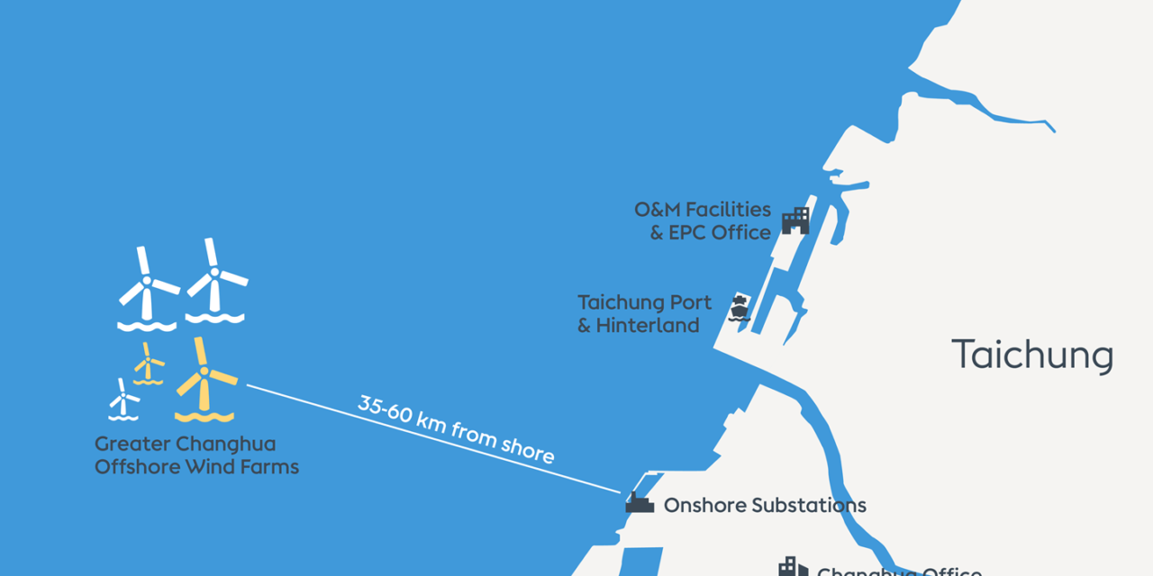 Ørsted begins installation of Greater Changhua 1 & 2a