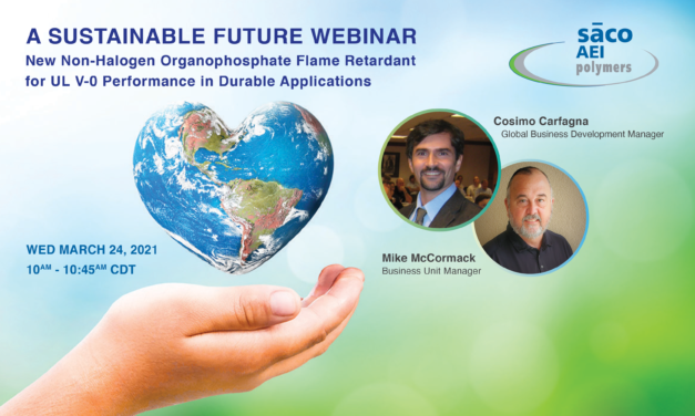 SACO AEI Polymers to host new 'A Sustainable Future Webinar'