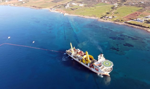 Successful completion of the record-breaking Crete Interconnection
