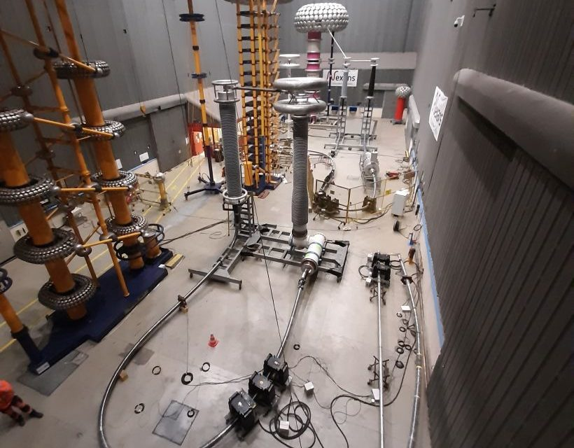 Nexans achieves 525 kV DC GIS cable sealing end electrical Type Test