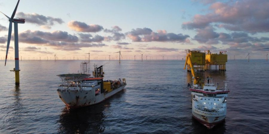 Jan De Nul executes cable repair work for TenneT in German Bight