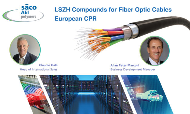 SACO AEI Polymers hosting new 'LSZH Compounds for Fiber Optic Cables European CPR' webinar