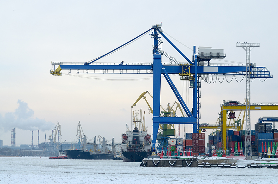 Üntel's cables keep port terminals moving and operational
