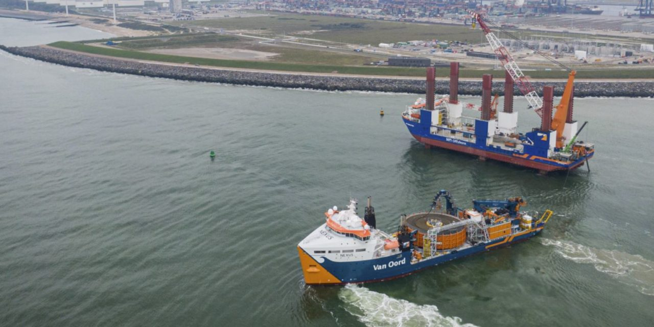 Van Oord and TKF sign contract for Hollandse Kust Noord
