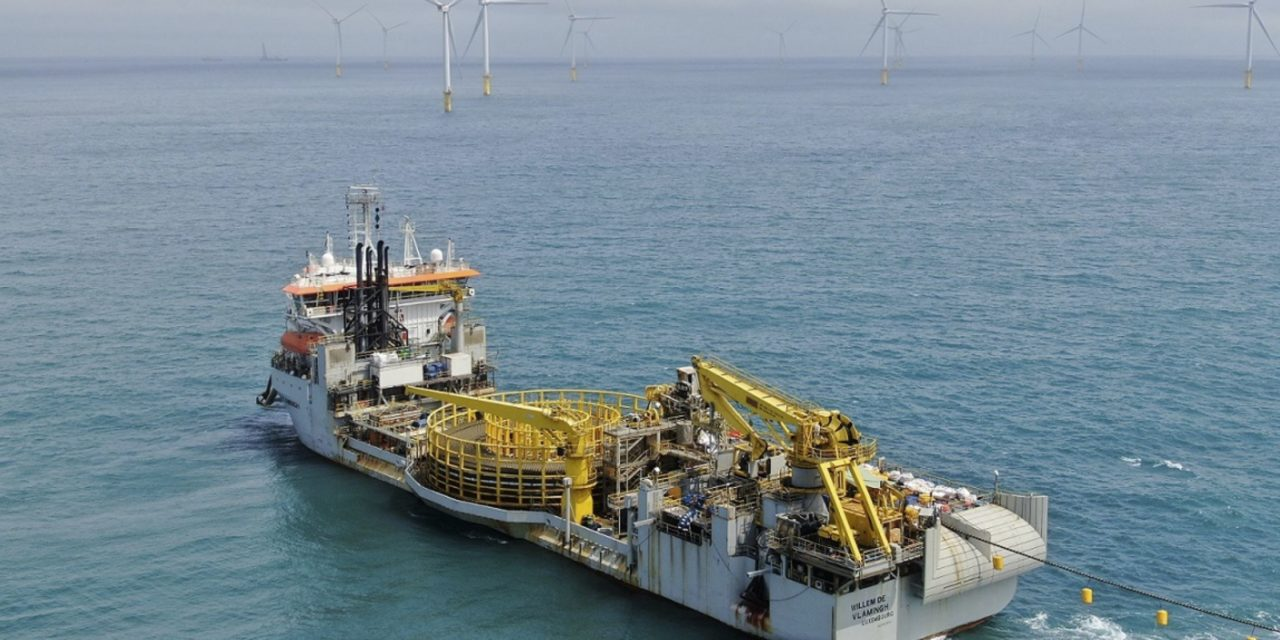 Formosa 2 completes export cable installation