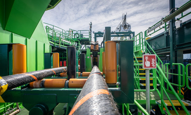 DEME Offshore successfully installs DolWin6 HVDC cable