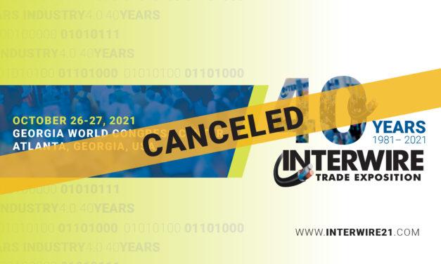 WAI's Board of Directors cancels Interwire 2021
