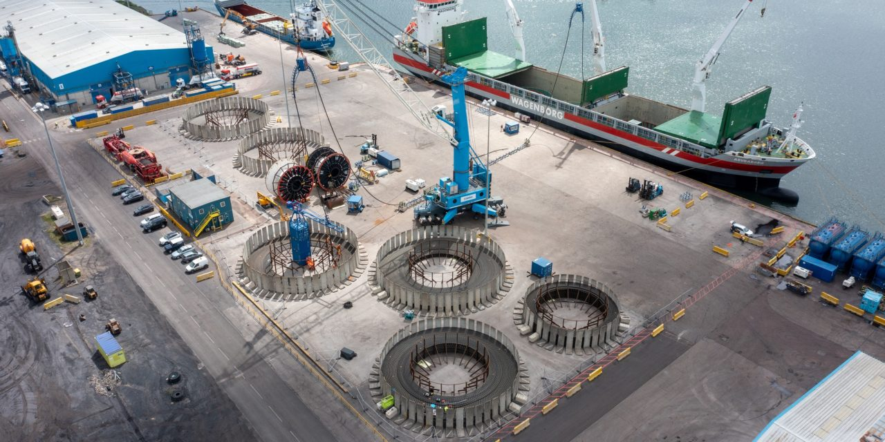 Port looks to future after Seagreen cable contract win