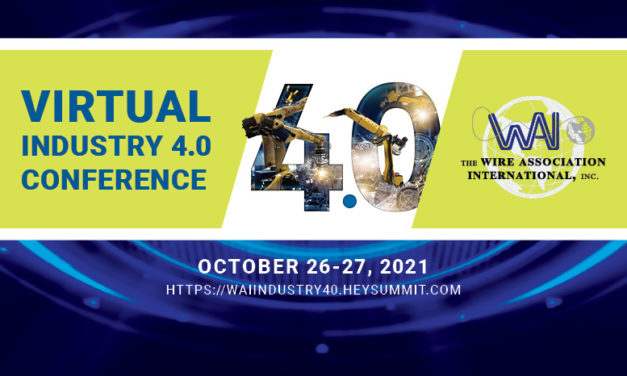 Registration open for WAI's Virtual Industry 4.0 Conference, October 26-27, 2021