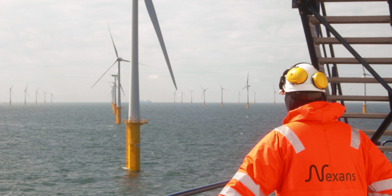 Nexans teams up with Parkwind for its offshore windfarms