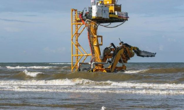 Sunfish successfully reburies export cable at Luchterduinen Wind Farm